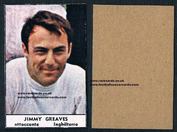 1966 reverse Greaves Tempo card